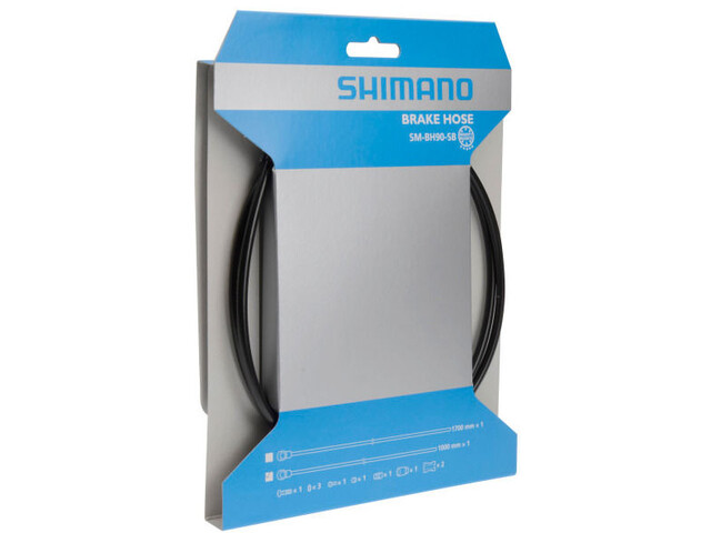 Shimano SM-BH90-SBS Bremsschlauch 1000 mm schwarz